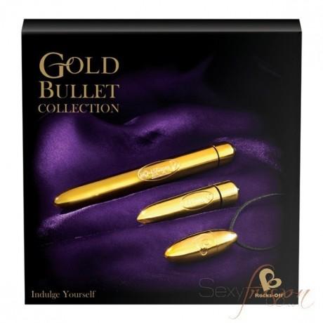 Coffret sextoys gold Bullet