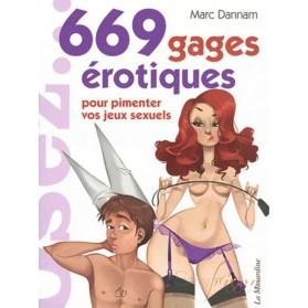 Livre Osez... 669 gages érotiques