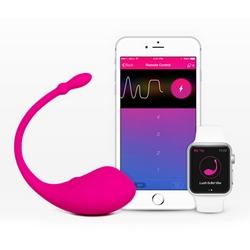 stimulateur clitoridien Lush, un sextoys technologique qui est contrôlé par Smartphone